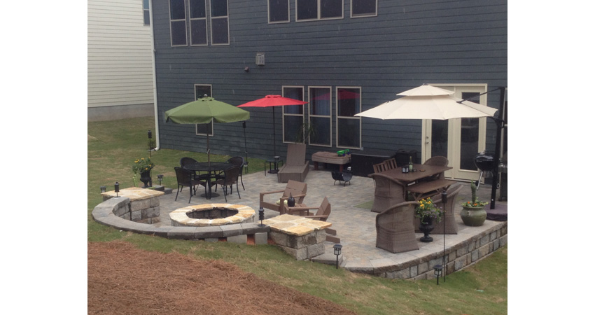 Patio Design And Installation In Charlotte NC Benton Outdoor Living - Backyard design charlotte