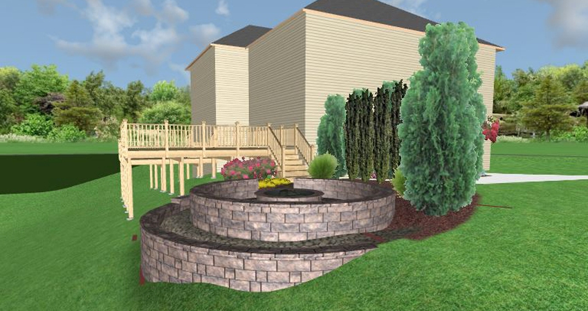 Full Size Rendering of Fire Pit