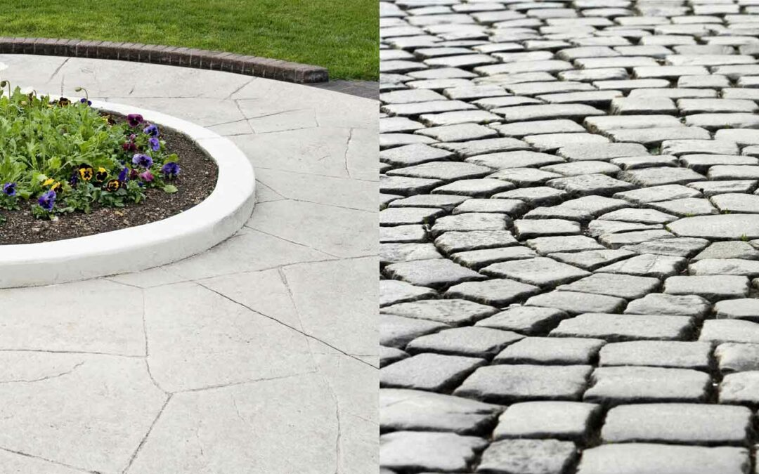 Pavers vs Concrete for Your Outdoor Living Space